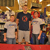 2011 Cole Aldrich, Jason King book signing : 