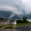 May 21, 2011 Topeka Twisters : the two darker pictures are taken with a cell phone as the twister was right over head, literally right over the top of our house. we got golf ball sized hail and then the rest of the pictures were taken with a Nikon D90 including the video.